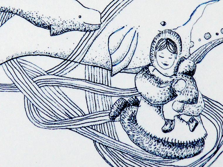 Peau d'âme, conte inuit